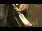 Ремонт ванной комнаты своими руками (видео урок) [uchisonline.ru]